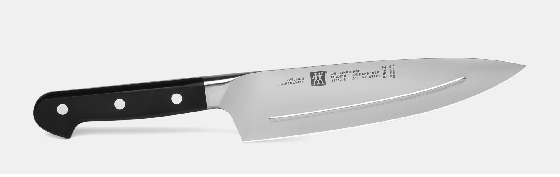 Zwilling Pro 8-Inch Smart Ridged Chef's Knife