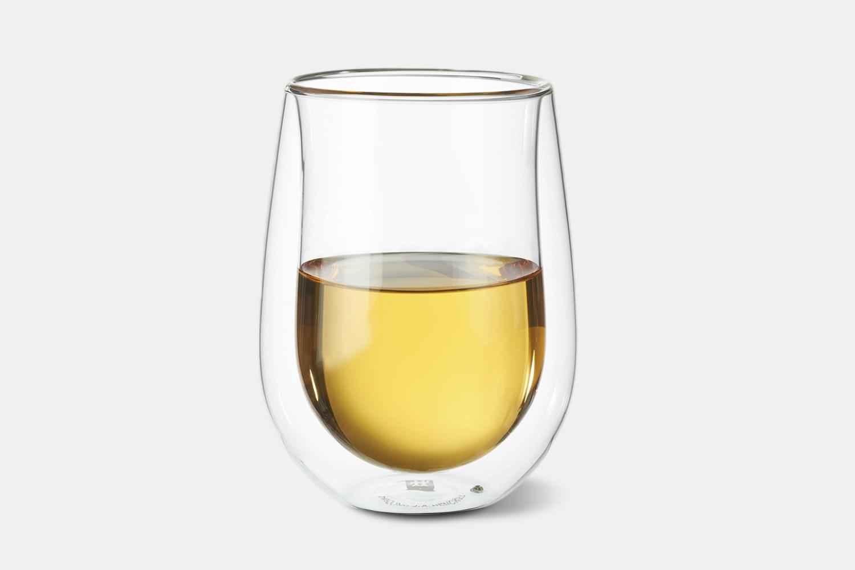 Stemless White Wine Glass – 10oz – 2-Piece Set