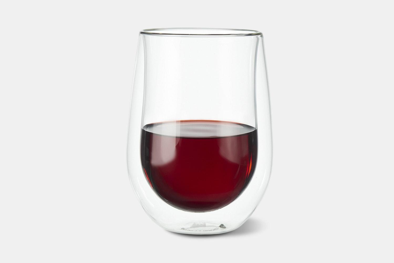 Stemless Red Wine Glass – 12oz –2-Piece Set (+$2.50)